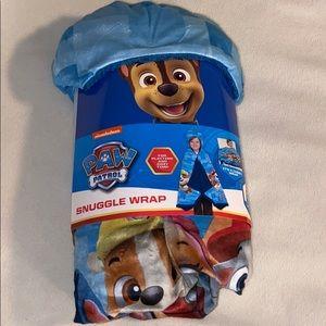 New Paw Patrol Snuggle Wrap